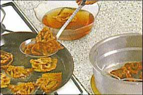 tremper la chabakia dans le miel